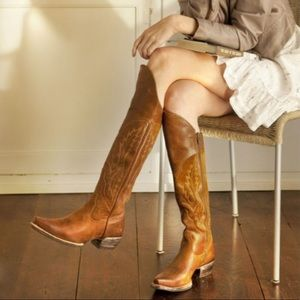 Ariat Murrieta Tall Cowboy Boots Knee High Leather